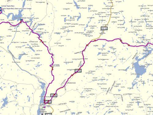 Options La centrale du Barrage Blanc et Lac Édouard