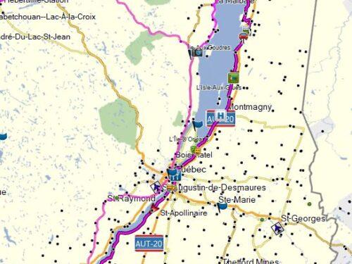 Trois-Pistoles – Drummondville par route 132